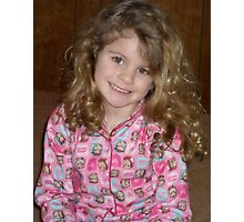 Little Miss- edited Photographic Print