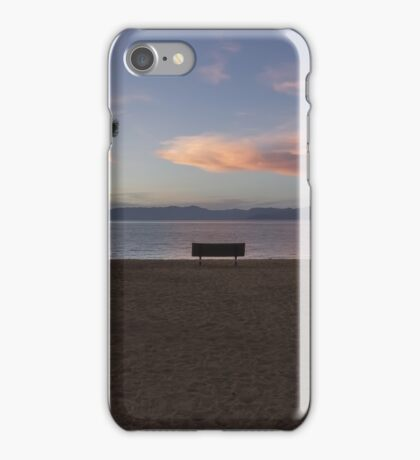 Dusk at Pope Beach  iPhone Case/Skin