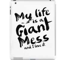 Andy Dwyer My Life is a Giant Mess Parks and Recreation iPad Case/Skin