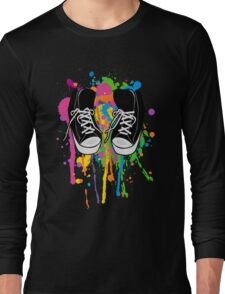 My High Top Sneakers Long Sleeve T-Shirt