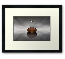 Time Stopped Framed Print