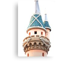 Disneyland Diamond Castle Canvas Print