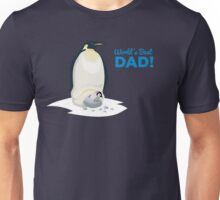 Family: Penguin - World's Best Dad Unisex T-Shirt