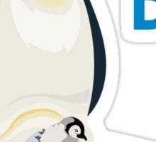 Family: Penguin - World's Best Dad Sticker