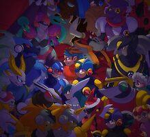 Battle Network X Starforce by BluBanette