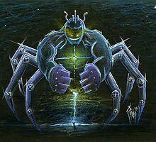 Spider Bot... the Spider Robot by chrispanila