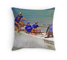 ASRL Navy Torquay 11 Throw Pillow