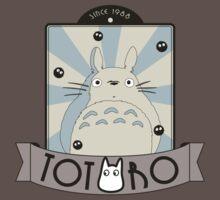 Vintage Totoro by agustindesigner