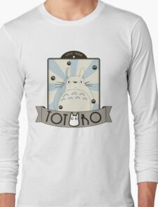 Vintage Totoro Long Sleeve T-Shirt