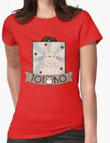 Vintage Totoro Womens Fitted T-Shirt