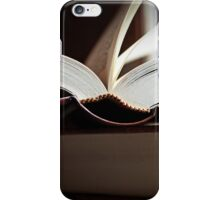Open Book  -A Moment In Time- iPhone Case/Skin