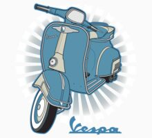 Vespa by Con Kennedy