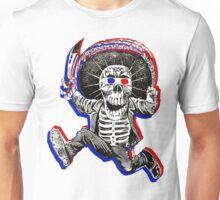 Anaglyph Calavera Unisex T-Shirt