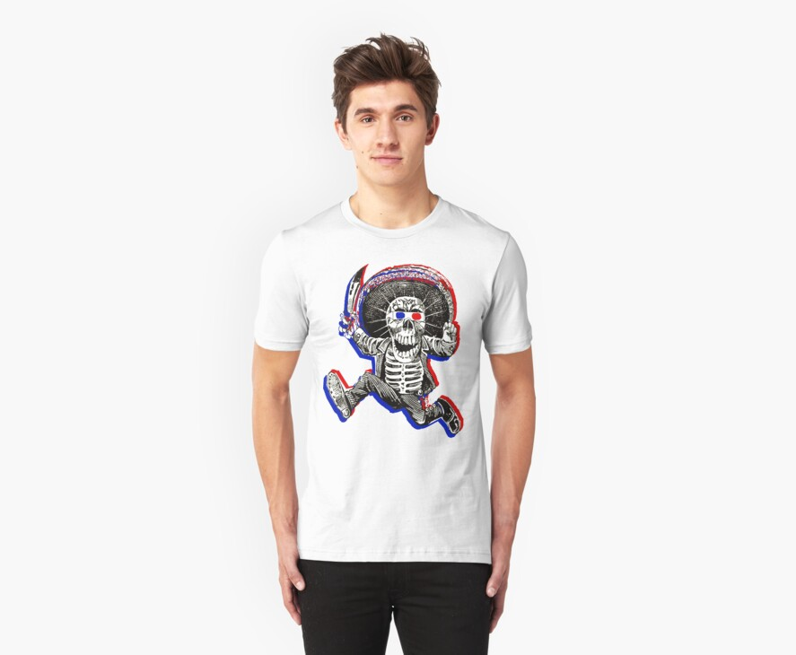 Anaglyph Calavera by Likely Lads