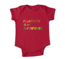 Creativity is my Superpower One Piece - Short Sleeve