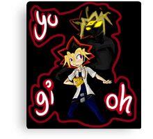 Yu-Gi-Oh! Followed by my Shadow Canvas Print
