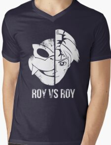 Roy v Roy Mens V-Neck T-Shirt
