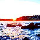 Sunset Surrounds - Copacabana by Timothy Roberts