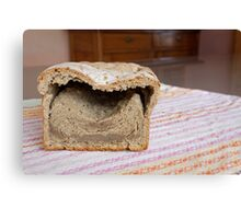 unbake bread Canvas Print