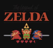 The Legend of Zelda Ocarina of Time 8 bit Kids Clothes