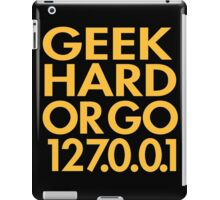 Geek Hard iPad Case/Skin