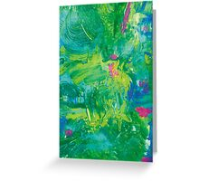 Garden Rain Greeting Card