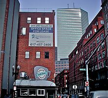 South Street Diner - Looking North - Boston - © 2010 by Jack McCabe