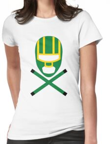 Kick-Ass minimal Womens Fitted T-Shirt