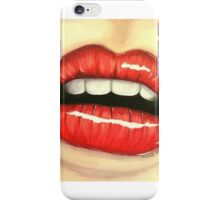 DIVA LIPS iPhone Case/Skin