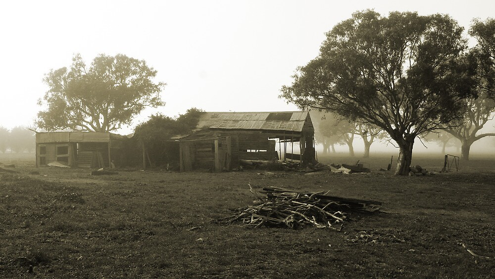 The Bushrangers Squat by Peter Fuller