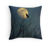 Silent Meditation Throw Pillow