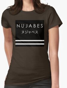 Nujabes Tribute Black Womens Fitted T-Shirt
