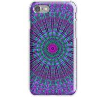 Purple Inspire mandala  iPhone Case/Skin