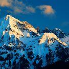 Winter Peaks by Inge Johnsson
