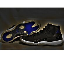Nike Air Jordan XI Retro Space Jam  Photographic Print