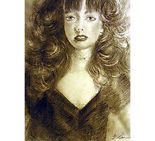Graphite Portrait - Marvellous Photographic Print