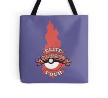 Elite Four Champion Flame Tote Bag