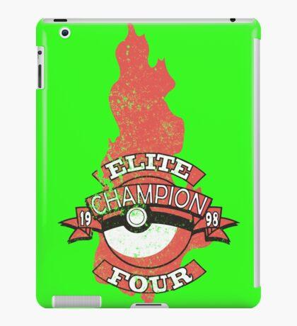 Elite Four Champion Flame iPad Case/Skin