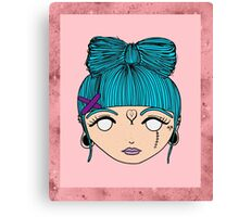 Hair Bow Canvas Print