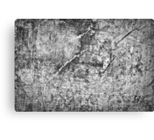 grey concrete wall  Canvas Print