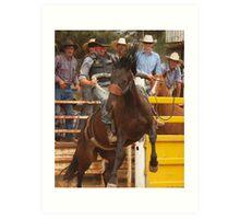 Bronco Rider  Taralga NSW Art Print