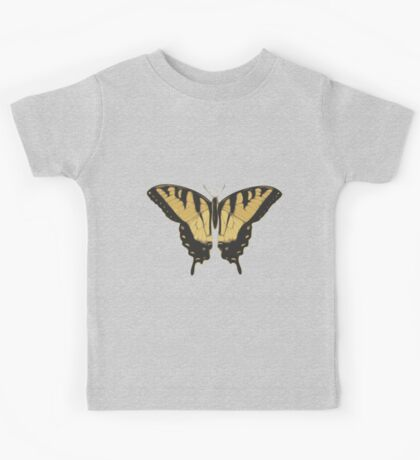 Brown Butterfly Kids Tee