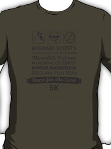 The Office Dunder Mifflin - Rabies Awareness Fun Run T-Shirt