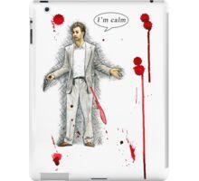 """Norman Stansfield (""""Léon"""") - I'm calm iPad Case/Skin"""