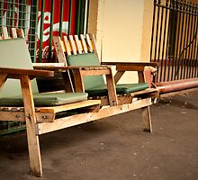 Deli chairs by Phill Danze