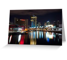 Colour of the Night Greeting Card