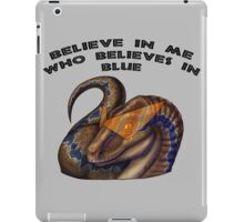 Who the h*** do you think she is? iPad Case/Skin