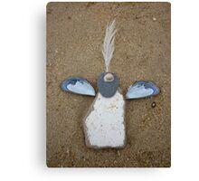 Ceramic angel Canvas Print