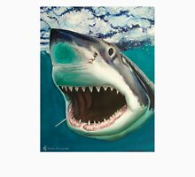 Great White Shark Surf Unisex T-Shirt