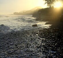 Black Sand Beach (El Salvador) by BGpix